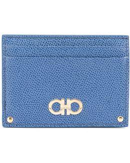 Logo Embellished Cardholder