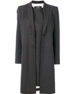 Longline Shift Dress Suit