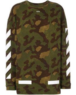 Military Stripe Sweater