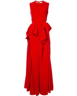 Tie Detail Gown
