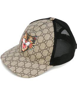 Cat Print Gg Supreme Baseball Hat