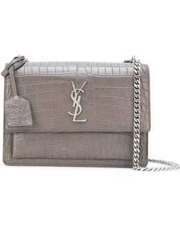 'sunset' Monogram Chain Wallet