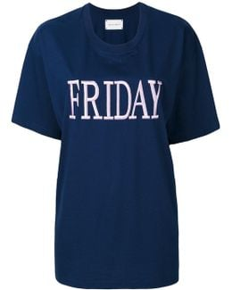 Friday Embroidered T-shirt