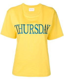 Thursday Embroidered T-shirt
