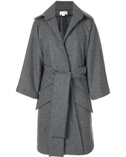 Oversized Wrap Coat