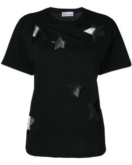Sheer Embroidered T-shirt