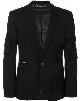 Patch Sleeve Blazer