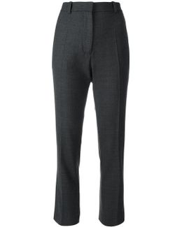 Stretch Tapered Trousers