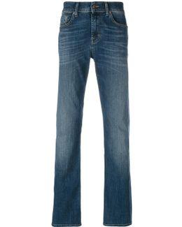 Stonewashed Regular Jeans
