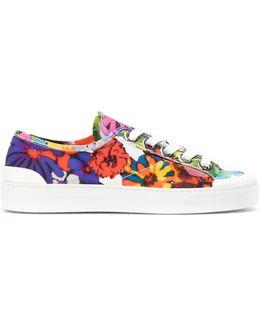 Floral-print Sneakers