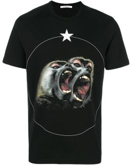 Monkey Brothers Printed T-shirt