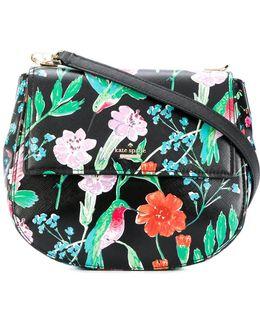 Floral Saddle Bag