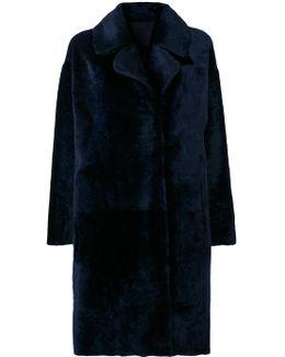 Furry Detail Coat