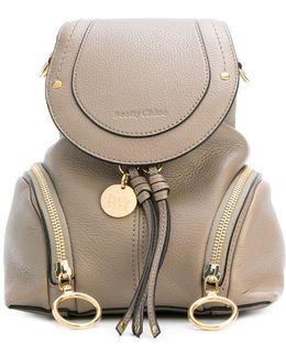 Double Zip Mini Backpack