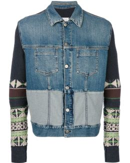 Sleeve Denim Jacket