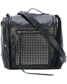 'loveless' 69 Studded Mini Convertible Box Bag