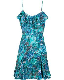 Petal Storm Beach Dress