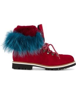 Rabbit Fur Lined Boots