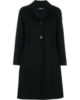 Flared Midi Coat