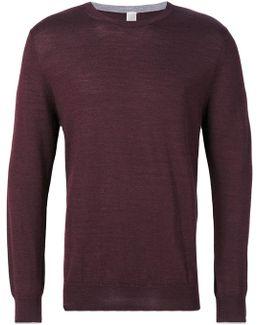 Round Neck Plain Sweatshirt