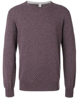 Dots Pattern Sweatshirt