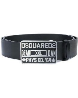 Phys Ed Buckle Belt