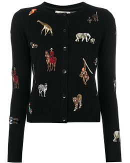 Animal Patch Cardigan