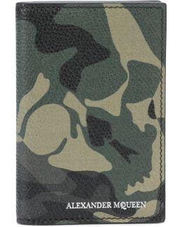 Camouflage Skull Wallet
