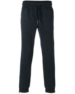 Gathered Ankle Track Pants