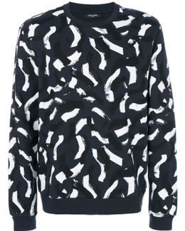 Brush Stroke Sweatshirt