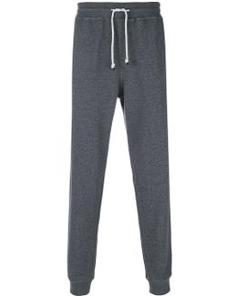 Drawstring Tapered Track Pants