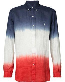 Colour Block Printed Shirt