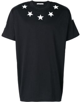 Columbian-fit Star Appliqué T-shirt