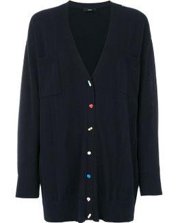 Button Detail Cardigan