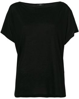 Jersey Boatneck T-shirt