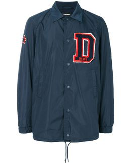 Initial Patch Coach Jacket