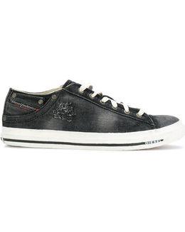 Denim Tennis Sneakers
