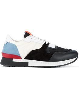 'runner' Textured Sneakers