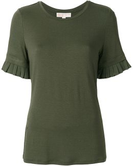 Pleated Sleeves T-shirt