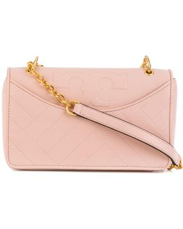 Contrast Chain Shoulder Bag