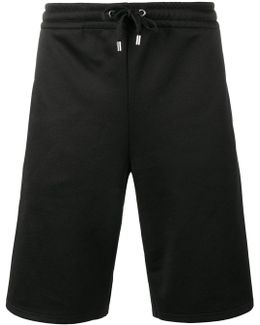 Logo Piped Track Shorts