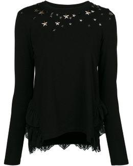 Sweatshirt With Star Detail