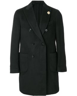 Classic Double-breasted Coat