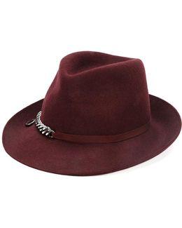 Chain Detail Hat