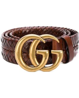 Interlocking Gg Buckle Belt