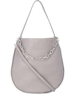 Silver Chain Cross Body Bag