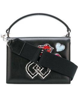 Embellished Dd Mini Shoulder Bag