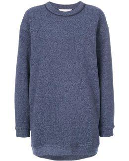 Oversized Marl Sweatshirt