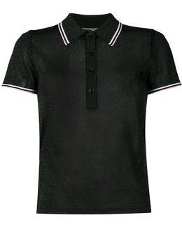 Lurex Polo Shirt