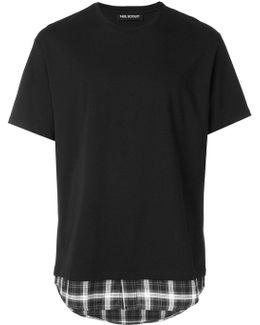 Double Layer Hem T-shirt